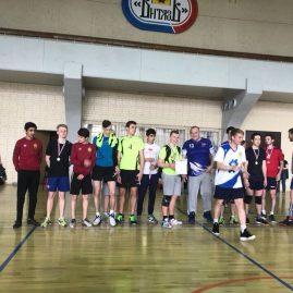 Соревнования по волейболу в рамках городского Фестиваля Студенческая Весна 2018