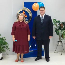 Глава Г.о. Подольск Николай Игоревич Пестов посетил Колледж «Знание»